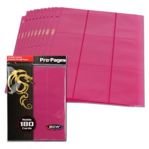 SIDE LOADING 18-POCKET PRO PAGES - PINK