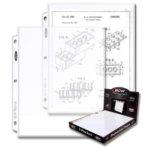 PRO 1-POCKET DOCUMENT PAGE (100 CT. BOX)