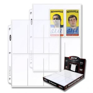 PRO 6-POCKET PAGE (100 CT. BOX)