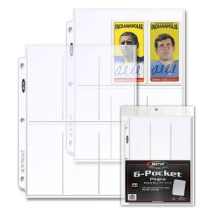 PRO 6-POCKET PAGE (20 CT. PACK)