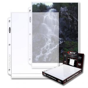 PRO 8x10 PHOTO PAGE (100 CT. BOX)