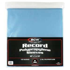 33 RPM RECORD SLEEVES
