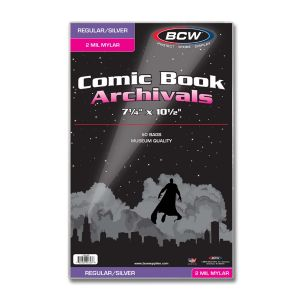 SILVER COMIC MYLAR ARCHIVALS - 2 MIL