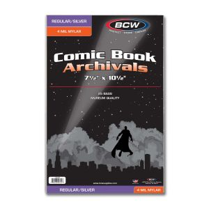 SILVER COMIC MYLAR ARCHIVALS - 4 MIL