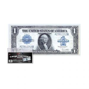 CURRENCY SLEEVES - LARGE BILL