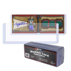 BOOKLET CARD TOPLOAD