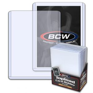 3x4 TOPLOAD CARD HOLDER - PREMIUM