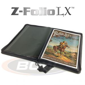 Z-FOLIO 11X17 LX ALBUM - BLACK