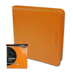 Z-FOLIO 12-POCKET LX ALBUM - ORANGE