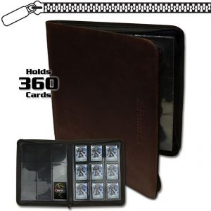 Z-FOLIO 9-POCKET LT ALBUM - BROWN