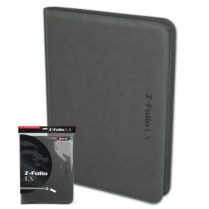 Z-Folio 9-Pocket LX Album - Gray