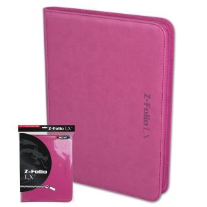 Z-Folio 9-Pocket LX Album - Pink