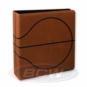 3 in. Album - Basketball Collectors Album - Premium Brown
