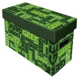 Short Comic Box - Art - Geek - Green