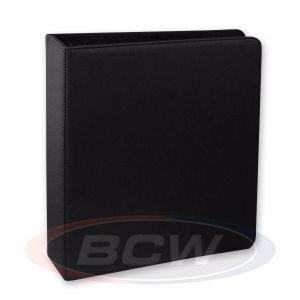 3 in. Album - Hockey Collectors Album - Premium Black