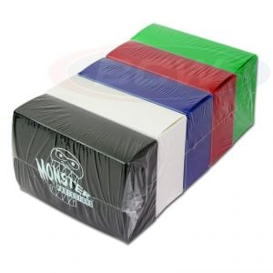 5 DOUBLE DECK BOXES - ASSORTED COLORS