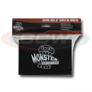 DOUBLE DECK BOX - MATTE BLACK