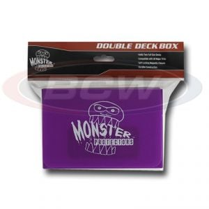 DOUBLE DECK BOX - MATTE PURPLE