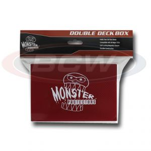DOUBLE DECK BOX - MATTE RED