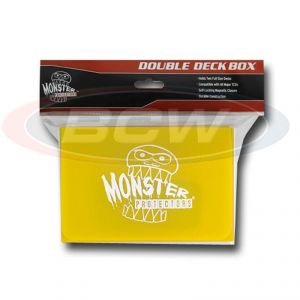 DOUBLE DECK BOX - MATTE YELLOW