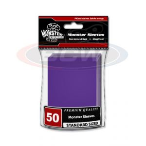 GLOSSY SLEEVES - PURPLE - LARGE - NO LOGO