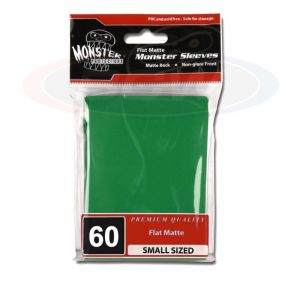 FLAT MATTE SLEEVES - GREEN - SMALL - NO LOGO