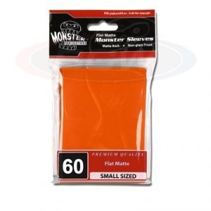 FLAT MATTE SLEEVES - ORANGE - SMALL - NO LOGO