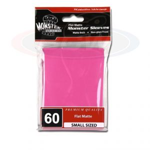 FLAT MATTE SLEEVES - PINK - SMALL - NO LOGO