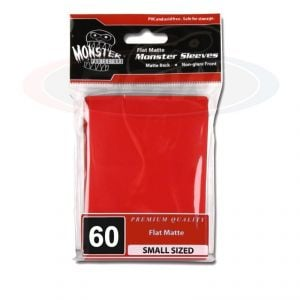 FLAT MATTE SLEEVES - RED - SMALL - NO LOGO
