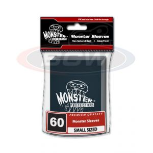 GLOSSY SLEEVES - BLACK - SMALL - MONSTER LOGO