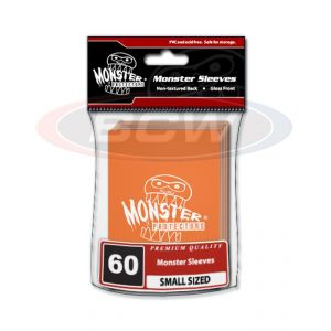 GLOSSY SLEEVES - ORANGE - SMALL - MONSTER LOGO