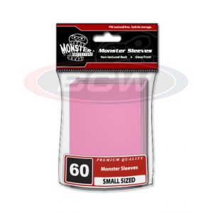 GLOSSY SLEEVES - PINK - SMALL - NO LOGO