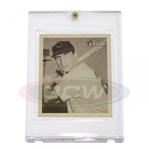 1948-1950 BOWMAN CARD 1-SCREW HOLDER (5 Year+ UV)