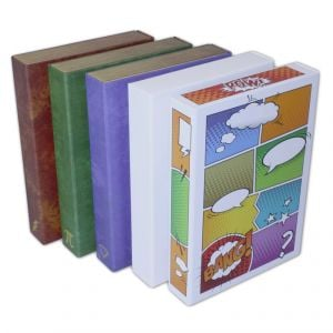 Mixed Case of Comic Book Stor-Folios