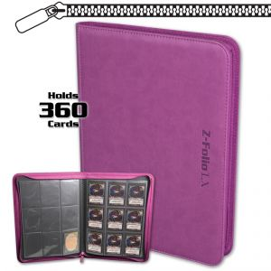 Classic Z-Folio 9-Pocket LX Album - Pink **LIMITED STOCK**