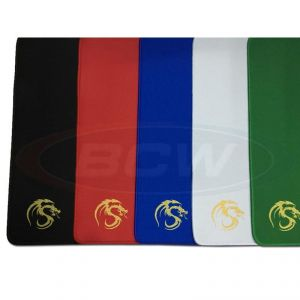 PLAYMAT WITH STITCHED EDGING - BLACK