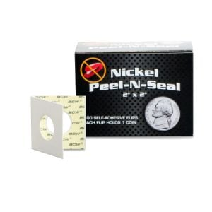 PEEL-N-SEAL FLIPS 2x2 - ADHESIVE - NICKEL