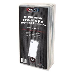 BUSINESS ENVELOPE #10 TOPLOAD HOLDER