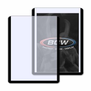 3x4 TOPLOAD CARD HOLDER - BLACK BORDER