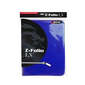 Z-FOLIO 9-POCKET LX ALBUM - BLUE