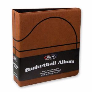 3 in. ALBUM - BASKETBALL COLLECTORS ALBUM - PREMIUM - BROWN