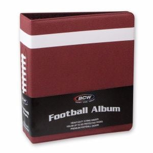3 in. ALBUM - FOOTBALL COLLECTORS ALBUM - PREMIUM - BROWN