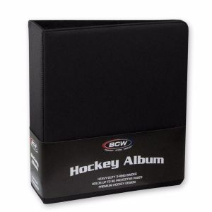 3 in. ALBUM - HOCKEY COLLECTORS ALBUM - PREMIUM - BLACK