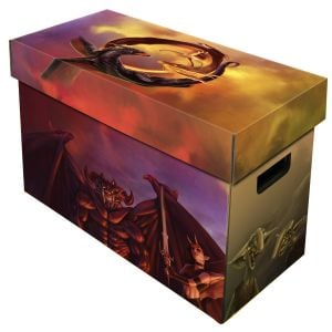 Magazine Storage Box - Art - Good vs Evil
